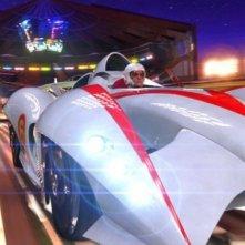 Emile Hirsch a tutta velocità in Speed Racer