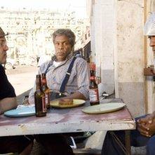 Jack Black, Danny Glover e Mos Def in una sequenza del film Be Kind Rewind