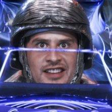 Moritz Bleibtreu in una scena del film Speed Racer
