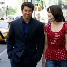 Patrick Dempsey accanto a Michelle Monaghan in una scena del film Un amore di testimone
