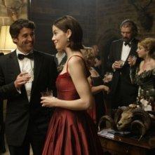 Patrick Dempsey e Michelle Monaghan in una scena del film Un amore di testimone