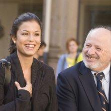 Sara Tommasi e Marco Messeri in una scena del film Ultimi della classe