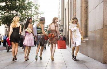 Sarah Jessica Parker in una scena del film di Sex and the City