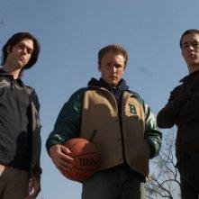 Nick Ouellette, Joshua Close e Alex House in una scena del film Full of it