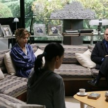 Aurélien Recoing e Sandra Ceccarelli nel film Il resto della notte