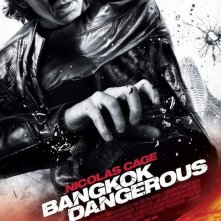 La locandina di Bangkok Dangerous con N. Cage