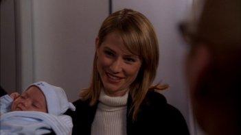 Meredith Monroe interpreta Haley, qui con il nuovo arrivato in casa Hotchner, nella serie Criminal Minds, episodio: The Fox