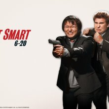 Wallpaper del film Agente Smart - Casino Totale, con due personaggi della spycomedy