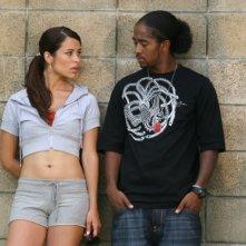 Zulay Henao e Omarion Grandberry in una scena del film Feel the Noise - A tutto volume