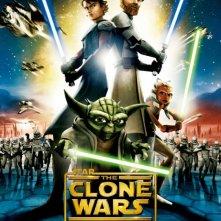 La locandina di Star Wars: The Clone Wars