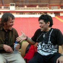 Maradona e Kusturica nel documentario Maradona by Kusturica