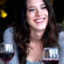 Rebecca Hall in una scena del film Vicky Cristina Barcelona