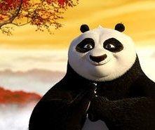 Una scena del film Kung Fu Panda (2008)