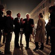 Il regista Abel Ferrara sul set del film Go Go Teles