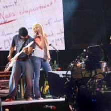 La giovane Miley Cyrus in Hannah Montana/Miley Cyrus: Best of Both Worlds Concert Tour