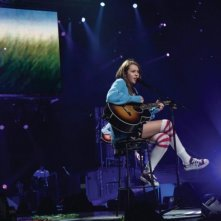 Miley Cyrus in una scena di Hannah Montana/Miley Cyrus: Best of Both Worlds Concert Tour