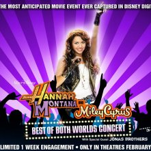 Wallpaper viola del film Hannah Montana/Miley Cyrus: Best of Both Worlds Concert Tour