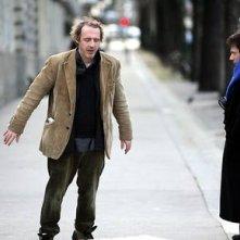Arnaud Desplechin e Mathieu Amalric in una scena di Un conte de Noël