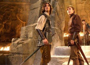 Ben Barnes e William Moseley in una scena del film Le cronache di Narnia: il principe Caspian