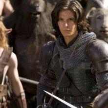 L'attore Ben Barnes in una scena del film Le cronache di Narnia: il principe Caspian