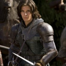 Una bella immagine dell'attore Ben Barnes in una scena del film Le cronache di Narnia: il Principe Caspian