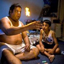 Francis Bosco e Jathishweran Naidu in una scena del film My Magic.
