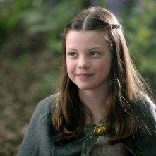 Georgie Henley in una scena del film Le cronache di Narnia: il Principe Caspian