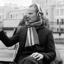 Il regista Joachim Trier sul set del film Reprise