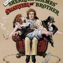 La locandina di Il fratello più furbo di Sherlock Holmes