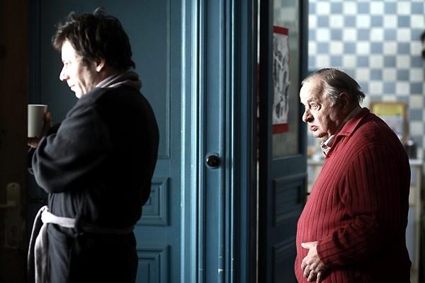 Mathieu Amalric E Jean Paul Roussillon In Una Scena Del Film Un Conte De Noel 60360