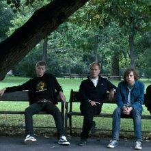 Odd Magnus Williamson, Christian Rubeck, Pål Stokka e Espen Klouman-Høiner in una scena del film Reprise