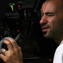 Pablo Trapero sul set del film Leonera.