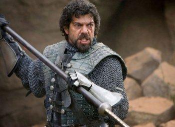 Pierfrancesco Favino in una scena del film Le cronache di Narnia: il Principe Caspian