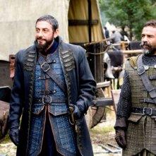 Sergio Castellitto e Damian Alcazar in una scena del film Le cronache di Narnia: il Principe Caspian