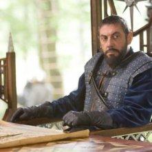 Sergio Castellitto in una scena del film Le cronache di Narnia: il Principe Caspian
