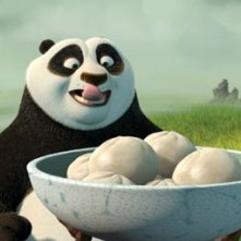 Un'immagine del cartoon Kung Fu Panda