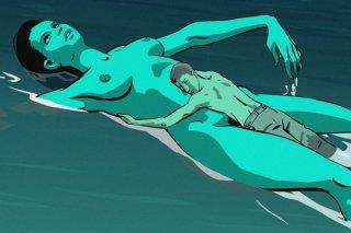 Una scena del film Waltz with Bashir