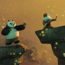 Una sequenza del film d'animazione Kung Fu Panda
