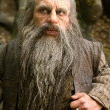 Warwick Davis in una scena del film Le cronache di Narnia: il Principe Caspian