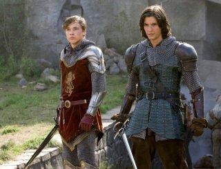 William Moseley e Ben Barnes in una scena del film Le cronache di Narnia: il Principe Caspian