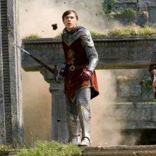 William Moseley e Skandar Keynes in una sequenza del film Le cronache di Narnia: il Principe Caspian