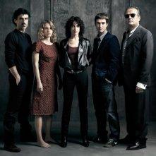 Il cast di Quo Vadis, Baby? in un'immagine promozionale