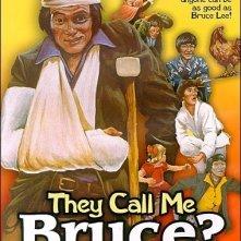 La locandina di Continuano a chiamarmi Bruce