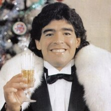 Diego Armando Maradona in una scena del documentario Maradona by Kusturica