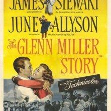 La locandina di La storia di Glenn Miller