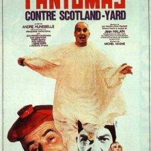 La locandina di Fantomas contro Scotland Yard