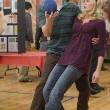 Drake Bell e Sara Paxton in una sequenza del film Superhero Movie