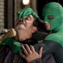 Drake Bell in una scena del film Superhero - Il più dotato fra i supereroi (2008)