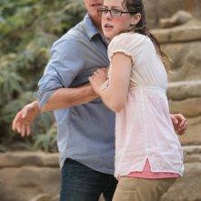 Jonathan Tucker e Jena Malone in una sequenza del film Rovine
