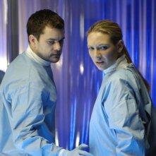 Joshua  e Anna Torv in Fringe